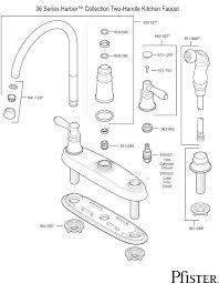 price pfister kitchen faucet repair manual price pfister kitchen faucet replacement parts for ergonomic delta