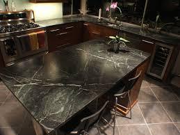 classy black like granite patterns soapstone countertops with