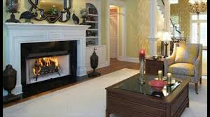 zero clearance wood burning fireplaces youtube