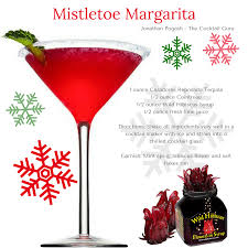 christmas martini wild hibiscus christmas cocktail the mistletoe margarita the