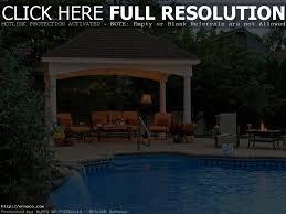 Pool Pavilion Plans Backyard Pavilion Ideas Backyard Decorations By Bodog