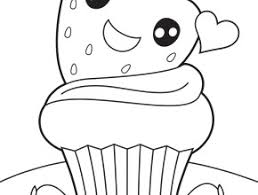 cute cupcake coloring pages cute cupcake coloring pages