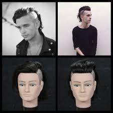 mens hair styles of 1975 matt healy the 1975 haircut tutorial youtube