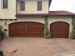 Overhead Doors Dallas by Custom Wood Stain Grade Sectional Garage Doors Installed In San