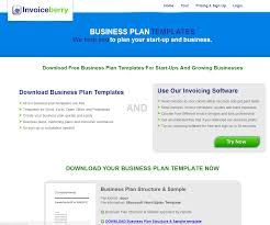 business continuity plan business plan template