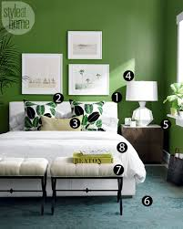 high low tropical bedroom style at home