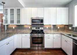 Small White Kitchen Cabinets Small White Kitchens Painting Kitchen Cabinets Black Center Island