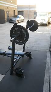 iron grip strength bench press with weights for sale in montebello