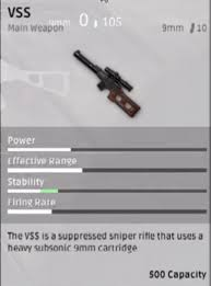 pubg player stats vss stats for those who haven t seen then pubattlegrounds
