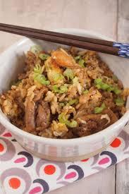 petit plat facile à cuisiner khao pad kaï riz sauté thaïlandais poulet trop facile cuisine