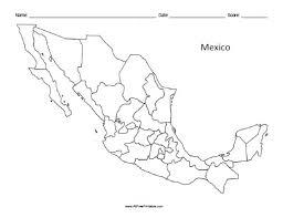 mexico map mexico maps free printable allfreeprintable