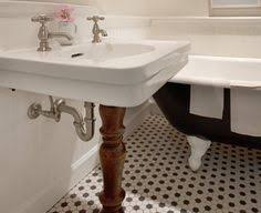 White Bathroom Floor Tile Ideas by Black And White Vintage Bathroom Tile 31 Retro Black White
