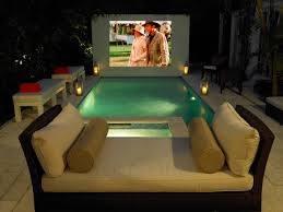 Backyard Theater Ideas Backyard Theaters That Prove Cinema Magic Is Real Photo With