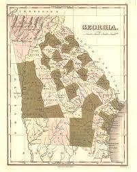 Map Of Georgia Cities Maps Georgiainfo