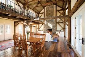 barnwood flooring living room farmhouse with area rug balcony