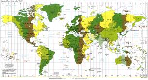 Spain Map World by World Time Zone Map Quireza Spain U2022 Mappery
