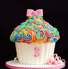 best 25 rainbow giant cupcake ideas on pinterest big cupcake