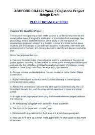 how to write an interview paper in apa format ashford crj 422 week 3 capstone project rough draft