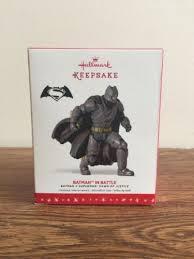 2016 hallmark keepsake ornament batman in battle event exclusive