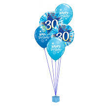 30th birthday balloon bouquets 50th birthday balloons archives celebrations party shop marlow