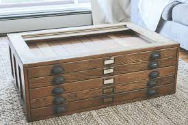Wood Flat File Cabinet Coffe Table Cabinet Coffee Table Wooden Flat File Cabinet Coffee