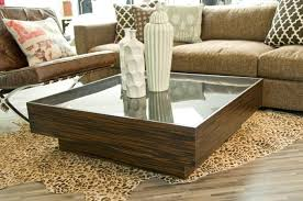 Coffee Table Box Www Roomservicestore Macassar Smoke Glass Floating Box