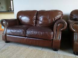 Piece Lounge Suite  Couches By Dunker And Louw Full Leather - Full leather sofas
