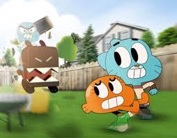 Backyard Cartoon The Amazing World Of Gumball Backyard Bolt On Behance