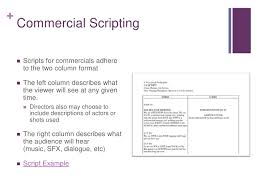 tv commercial script template digital storytelling commercial concepts