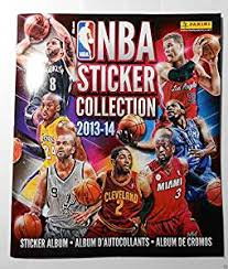 sports photo albums 2013 14 official panini nba sticker collection