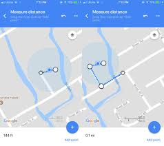 Draw A Route On Google Maps by How To Measure Distance With Google Maps App