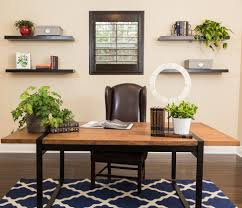 desk rug furniture wood desk with potted plant and desk accessories also