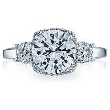 tacori dantela tacori dantela 2623rd halo pave engagement ring