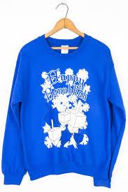 hannukah sweater blue happy hanukkah dreidel sweatshirt ragstock