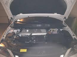 lexus ct200h white caramel carbon fiber hood dampers