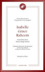 formal high school graduation announcements formal high school graduation announcement card ecard template