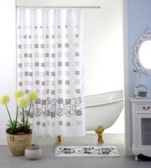 contemporary shower curtain rod bathroom bathroom curtains