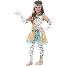 Cleopatra Halloween Costumes Girls Funky Cleopatra Child Halloween Costume Walmart