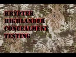 Color Blind Camouflage Test Kryptek Highlander Concealment Testing Part 1 Youtube
