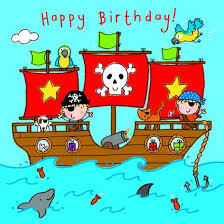 pirate ship boys birthday card 2 40 a great range of pirate