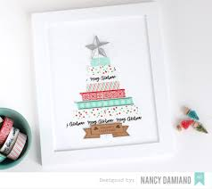 american crafts studio blog holiday decor a custom christmas frame