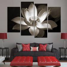 mesmerizing 70 lotus flower wall art design ideas of lotus flower
