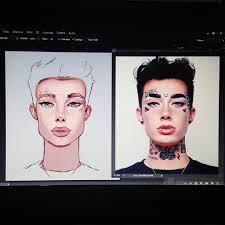 makeup artist sketchbook shalvydraws gramunion explorer