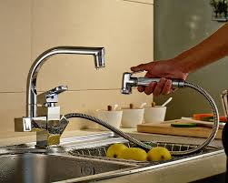 kitchen sink faucet with pull out spray rozinsanitary led spout kitchen sink faucet pull out spray