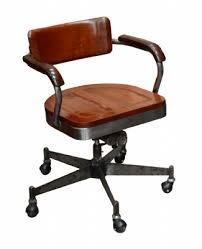 fauteuil de bureau industriel en acier pieds étoile bureau