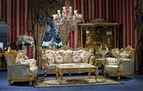 Classical Living Room Furniture Living Room George Versailles Classic Traditional Living Room