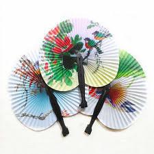held paper fans paper fan wedding favours ebay