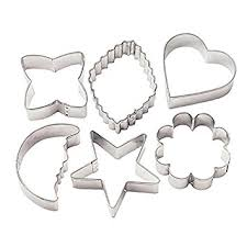 wilton metal cookie cutters classic shapes kitchen