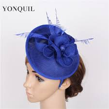 fascinators for hair high quality 17 color royal blue hair fascinators for hair