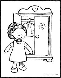 clothes colouring pages kiddi kleurprentjes